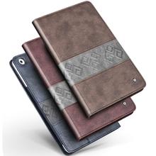 QIALINO New 2014 Smart Cover For iPad mini PU Leather Sleep Wake Stand Cover Case For iPad Mini 1 mini2 Case,wholesale