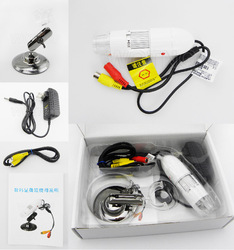 25X-400X Portable TV Digital Microscope To Any Monitor With TV-in