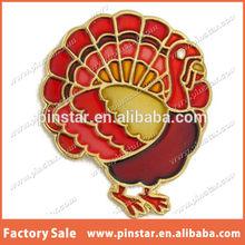 Thanksgiving Turkey Fall Lapel Pin