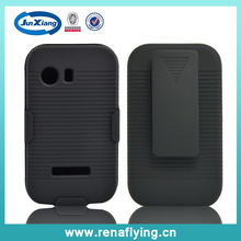 dual heavy duty holster case for Samsung galaxy young S5630 with belt clip