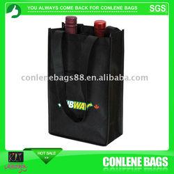 non woven 6 bottle wine bags shopping