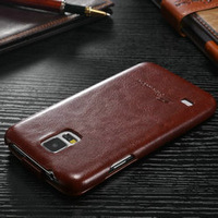 crazy horse leather flip case upscale leather phone case for Samsung Galaxy S5