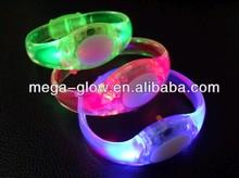 Wholesale funny flashing and light up led wristband