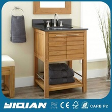 Euro Simple Design Marble Countertop Modern Wood Bathroom Furniture Ideas