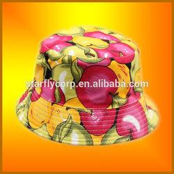 2014 summer hot selling free pattern children bucket hat (ST-H1826)