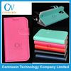 2014 New fashion cross grain Wallet Stand Flip Case for Samsung Galaxy S4 I9500