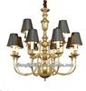 Living room dressing guzhen modern glass chandelier lights for europe