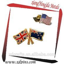 Hot sale country uk flag pin badge lapel pin emblem