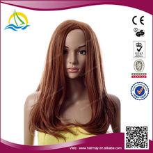 High quality kanekalon japanese gray hair bun wig synthetic