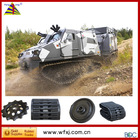 High quality / low vibration / low noise / light weight / fast speed Military BV206 ATV rubber track
