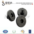 black oxide socket machine screw for guide rail (with ISO and RoHS certification)