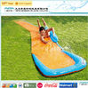 Park inflatable plastic water slide for kids