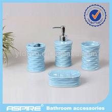 4 pcs ceramic bathroom accessories set high perceived value