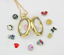 2014 fashion living floating locket, factory direct wholesale charm locket