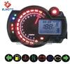 Universal tachometer motorcycle meter Blue LCD Backligh Speedometer Odometer MotorBike Motor Dirt bike