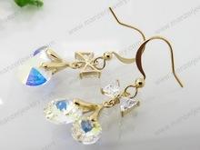 Exclusive purple opal Exclusive earring clutch