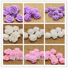 Resin flower Best match floret following from DIY hairdressing materials