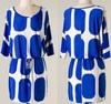 royal blue short dress, women dress model with hands, sexy summer maxi dress