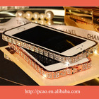 Luxury Shining Bling Diamond Metal Bumper For iPhone 5 5S Frame Case Cover