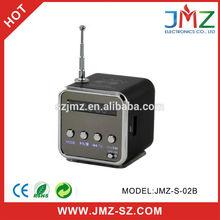 Mini sound box speaker compatible TF Card