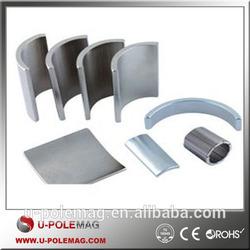 N38 high quality and useful arc neodymium motor magnets