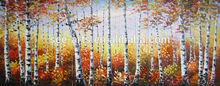 Handmade Beautiful Canvas Woods Painting Designs