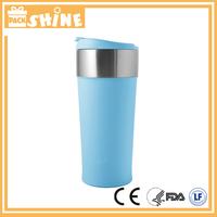350ml Stainless Steel Coffee Mug, Leak-Proof with Matt Rubber Finish