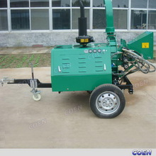 Low price newest diesel wood and corn stalk crushers