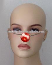 LED plastic nose for clown