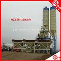 Nuevo diseño HZS25 25 metros cúbicos hora hormigón Planta dosificadora de precio bajo con el CE, ISO