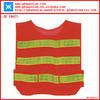 Hi vis reflective safety vest with pockets of kids safety products