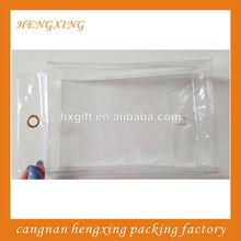 Color Pen PVC Bags,Clear Transparent Bags