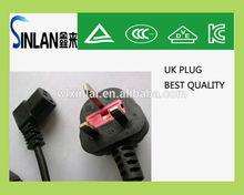 3A,5A,10A,13A uk 3 pin plug /3 pin socket plug with fuse