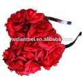 moda in metallo elastico fascia di fiori per il bambino