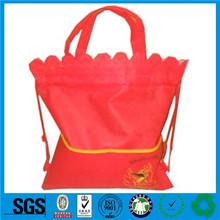 Guangzhou insulated shopping cart bag,xmas fabric gift bags