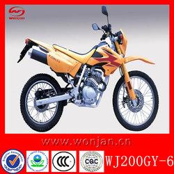 Super cheap chinese dirt bike 200cc for sale(WJ200GY-6)