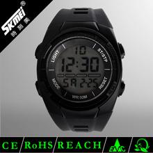 big face skmei fashion mens dual time sports digital watch china supplier