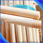 Chinese broom stick, 100% natural wooden broom stick with top quality