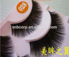 korea eyelashes extensions makeup natural false lashes silk mink eye lashes