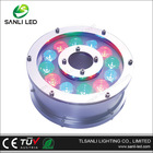 9W IP68 stainless steel underwater LED ring light