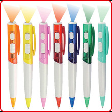 Costom promotional led light ballpoint pen led pen multi-function pen