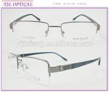 half-rim optical glasses pure titanium frames