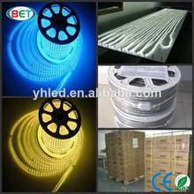 5050 Led Strip 120v 240v 60pcs/m waterproof ip67 led strip daylight 220v