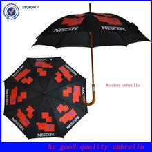 Nice fashion raines red and black straight umbrella