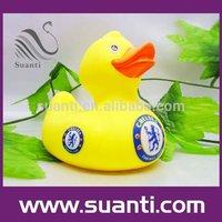 Plastic duck of baby bath toys