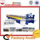 CE Standard YUFA JCX 820 Color Steel Roof Tile Metal Sheet roll forming machine steel plate production line
