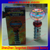 2014 New Hot selling shenzhen magic led magic spinning flashing light ball toy