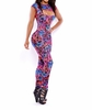 New Sexy Women Cocktail Party Evening Bandage Bodycon Jumpsuits Dress summer dress Wrap Evening Party Clubwear