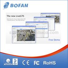 GPS tracking software platform for online fleet management with User Roles Management
