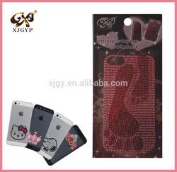 skins sticker for mobile phone/sticker for cell phone/3d crystal cell phone stickers